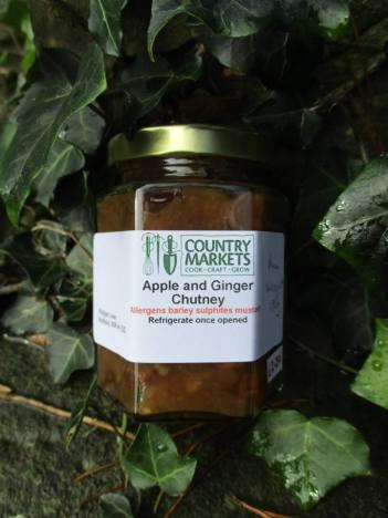 apple ginger chutney