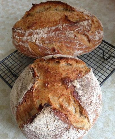 bread crusty