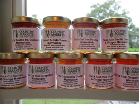 Marmalade in a Row
